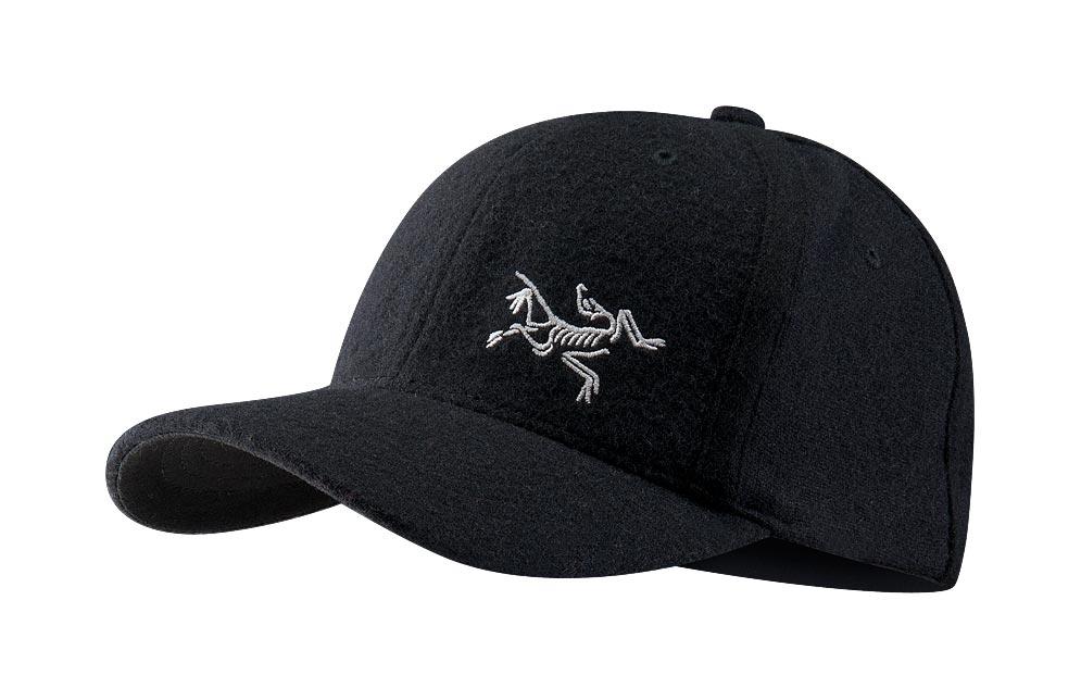 Arcteryx Black Wool Bird Cap